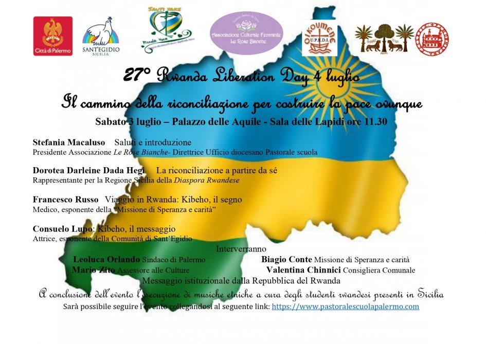 Memoriale della pacificazione del Rwanda 4 luglio